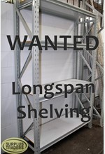 WANTED - Longspan Shelving